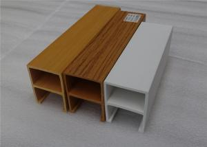 China Anti Static Indoor PVC Ceiling Panels , Bamboo Fiber Wood Plastic Composite Ceiling on sale