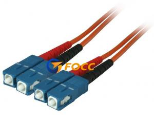 China Custom OM2 Optical Fiber Cables SC SC Multimode Fiber Patch Cable on sale