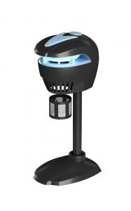 China Outdoor IPX4 Electric PC Plastic Mosquito Light Trap With Drawing Fan on sale