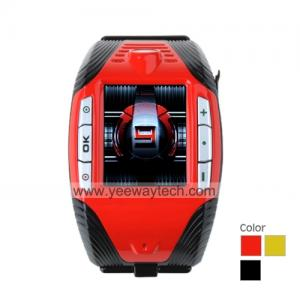 China F3 Sports Cell Phone Watch + Bluetooth, MP3 MP4 Player (Tri-Band) on sale