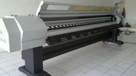 China Icontek 3306FA outdoor advertising Solvent Printer 3.2M With Seiko Printhead on sale