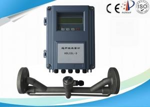 China Ultrasonic Pocket Clamp On Flow Meter Transducer IP65 Flow Velocity 10 m/s on sale