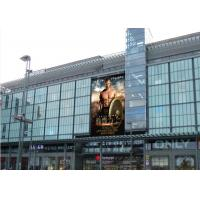 China Iron Cabinet Electronic LED Billboard 10 mm Digital out of Home Advertising on sale