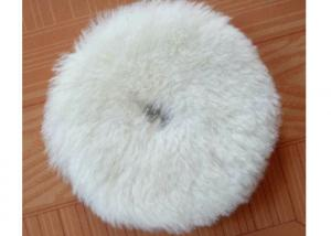 China Flexible Wool Blend Paint Polishing Pads , Double Sided Wool Buffing Pad OEM on sale