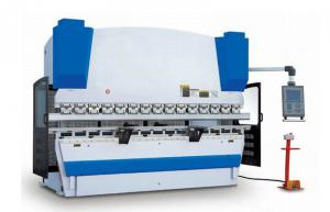 China  Full Loop Controlling CNC Sheet Metal Press Brake With Electro Hydraulic Servo System on sale