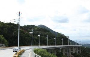 China High Stability Domestic Maglev Wind Turbine Generator for Traffic signal on sale