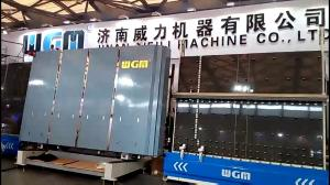 China Automatic Glass Loading Machine 4-12mm Glass Thickness 10KW Total Power on sale