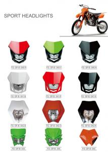 China Various Colors Led Motorcycle Driving Lights , Led Motorcycle Headlight New ABS Material on sale