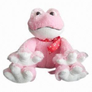 China Plush Toy, Frog Shape on sale