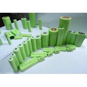 China 3.6v battery nimh 1100mah aa type on sale