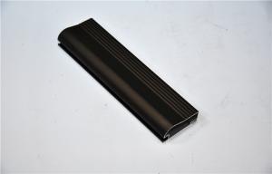China Black Anodized aluminum frame Aluminium Profile For Windows And Doors on sale