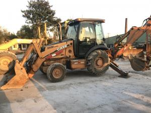 China CASE 580M Used Backhoe Loader  In Good Condition 2010 Year 4000KG on sale