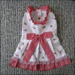 СС, принцесса Таможня Собака Одевать Одевать Йоркие чихуахуа с розовая милая