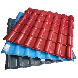 China Telha de telhado ondulada que forma a máquina plástica da extrusão da maquinaria/PVC para telhar on sale