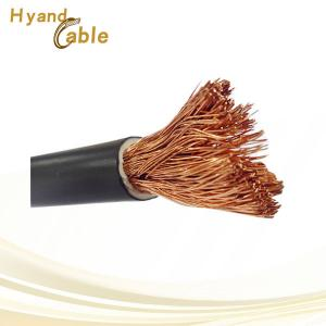 China H01N2-D(YH,YHF) black flexible pvc pure copper welding cable 16MM 25MM 35MM on sale