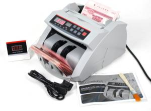 China Currency Value Automatic Money Counter With Magnetic Counterfeit Detection on sale