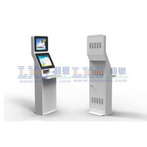 China Haut-parleur en ligne de lecteur de Smart Card de kiosque de paiement de Bill d'hôpital d'enquête on sale