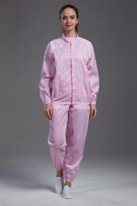China Various Color Clean Room Suit , Anti Static Apparel Protective Clothing on sale