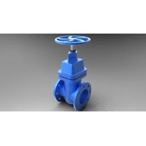 China DN 300 PN 16 Cast Iron Gate Valve Flanged Brass Seat For Water on sale
