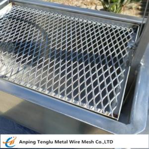 China Expanded Metal Barbecue Grill|Disposable or Recycled BBQ Grille 0.5Thickness on sale