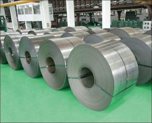 China Tisco Baosteel Zpss Galvanized Cold Rolled Steel Strips Oiled / Unoiled Surface on sale