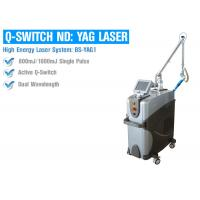 Multifunctional Q Switched ND YAG Laser Machine For Tattoo Freckle Removal