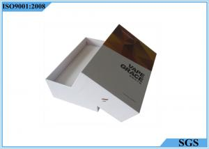 China Electronic Cigarette Hard Gift Boxes Packaging Color Printing 18cm X 12cm X 5cm on sale