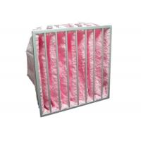 Reusable Multi Pocket Air Conditioning Ventilation Air Filter Synthetic Fiber Glass Fiber
