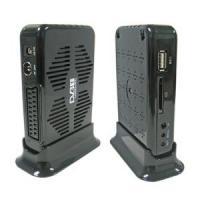 Mini Scart DVB-T with SD/MMC Card Freeview Digital TV Terrestrial Receiver