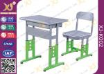 Adjustable Metal Student School Table and Chairs With Skid Resistance Legs