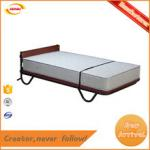 Factory direct supply deluxe spring folding rollaway bed Kunda A-038