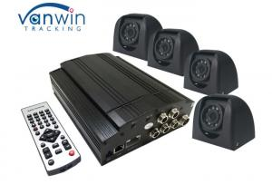 China Surveillance 4 Channel Mobile DVR , 2TB Video Recorder System For School Bus on sale