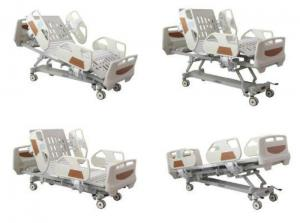 China CE Central Braking System five function Electric Hospital Bed icu electric bed on sale