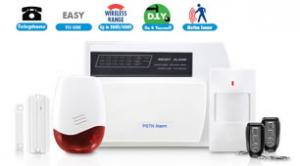 China PSTN Wireless Alarm System PHA-100 on sale