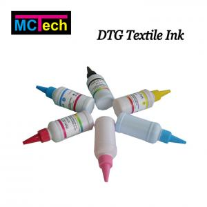 China Fabric Dyeing Ink, DTG Ink,Textile Pigment Ink For Azon Texpro DTG Discharge Ink For Konica Minolta on sale