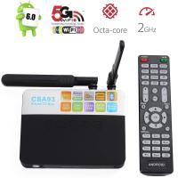 2016 New Arrival CSA93 Octa core Smart Android TV BOX 2G 16G Kodi 17 Dual WIFI OTT TV BOX