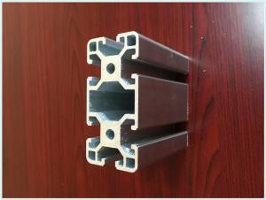 China Industrial Structural T-slot Aluminum Profiles For Powder Coating Aluminium Purity 99.6% supplier