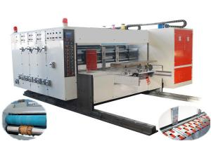 China Automatic Flexo Printing Die-cutting Machine, Automatic Lead-edge Feeding, High-speed on sale