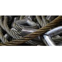High strength anti twist galvanized steel wire rope