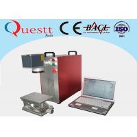 Red Fiber Laser Marking Machine Maintenance Free With 1064nm Laser Wavelength