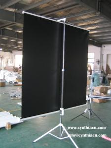 China Cynthia screen tripod projection screens matte white fabric 72-150 portable tripod screen on sale