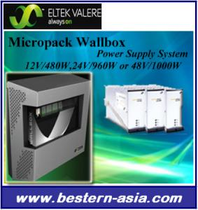 China Eltek Valere Micropack Wallbox Power Supply System 24V/960W on sale