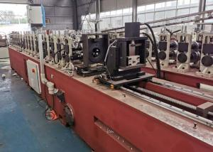 China Galvanised Steel Aluminum Safety Roll Forming Line For Door Frame Racking on sale