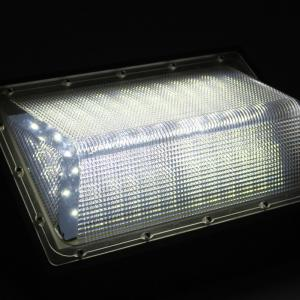 China Outside LED Wall Pack Light Fixtures 120° Beam Angle 100-277V 347V 30W -120W on sale