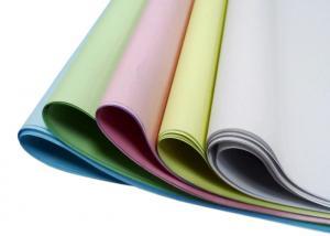 China 100gsm CFB Carbonless Paper Blue Black Image Color Clear Image Copy Minimum 5 Ply on sale