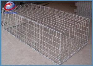 China Round Gabion Baskets Rock Filled Gabion Cages For Roadway / Bridge Protection on sale