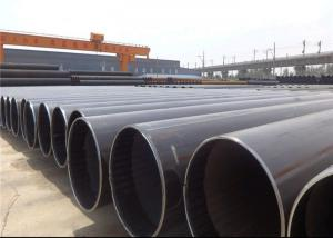 China Straight Submerged Arc Welded Carbon Steel Pipe For Construction / Structure on sale