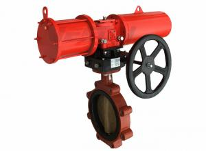 China Durable Pneumatic Emergency Shut Off Valve , Automatic Water Shut Off Valve on sale