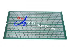 China SS Wire Cloth Bonds Support Plank Together Tightly Shale Shaker Screen With Hooks on sale