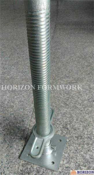Scaffolding Universal Jack : Universal scaffold screw jack with dismountable base plate
